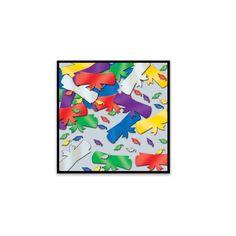 Jumbo Fanci-Fetti Graduate Silhouettes multi-color (12 Packs)