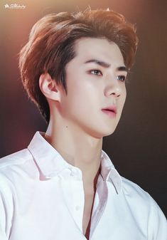 Find images and videos about kpop, exo and sehun on We Heart It - the app to get lost in what you love. Chanyeol Baekhyun, Exo Kai, Sehun Hot, Kpop Exo, Rapper, Kim Minseok, Byun Jungha, Xiuchen, Bts And Exo