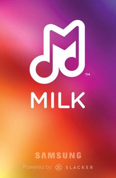 Milk Music by Samsung and powered by slacker radio. Cool interface, commercial free, share your songs and create customizable stations