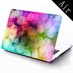 Colorful Bubble Design Full-Body Protective Plastic Case for 11-inch/13-inch New MacBook Air – USD $ 25.99
