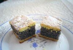 Vastag mákos Hungarian Cake, Cheesecake, Muffin, Sweets, Breakfast, Food, Poppy, Cakes, Christmas
