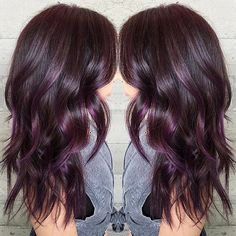 "2,349 Likes, 54 Comments - Los Angeles Hair Salon (@butterflyloftsalon) on Instagram: ""Aubergine... @pulpriothair colors... By Butterfly Loft stylist Masey @masey.cheveux"""