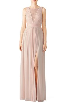 59f397f03112 Rent Blush Illusion Gown by Adrianna Papell for  35 -  55 only at Rent the  Runway