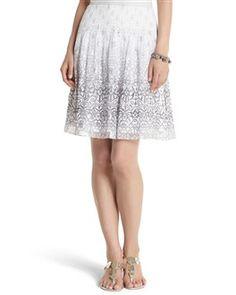 Shimmery Sparkle Skirt - White House | Black Market