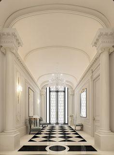 lobby Interior Design - Doha-Qatar