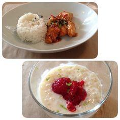 POLLOP - Wok de volaille et riz au lait