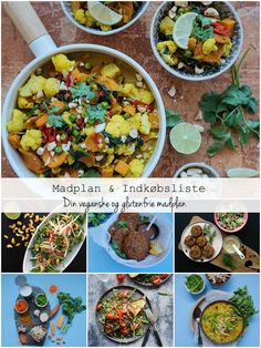 Vanløse blues.....: Madplan & Indkøbsliste: Din veganske og glutenfrie madplan #vegan #food #danish