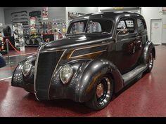 1937 Ford 2-Door Slant 2-Door Sedan. 1937 Ford 2-Door Slant. The interior is ALL custom as well!