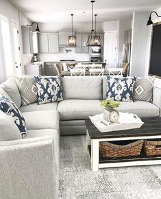 57 modern farmhouse living room decor ideas