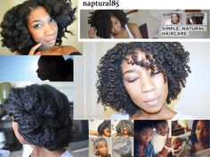 If you're natural and you don't know Naptural85 (Whitney), you're crazy! Check out her blog: http://www.naptural85.com/ and her YouTube channel: http://www.youtube.com/user/Naptural85  I just love her!!!