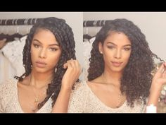 Haven't tried it yet, but I want to!  Twist Out for Naturally Curly Hair | SunKissAlba - YouTube