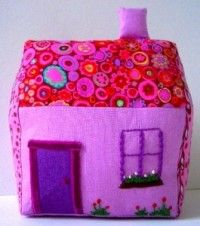 Free Sewing Patterns: Adorable Fabric House