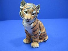 Lenox Sumatra Tiger Cub Porcelain Animal Figurine Smithsonian Endangered Species