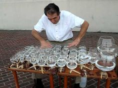 Jesu, Joy of Man's Desiring -- Jamey Turner on a glass harp (+playlist)- I'd never heard it played on a glass harp before!