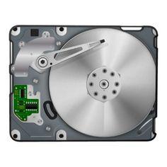 Hard Drive ipad case by Bartonleclay design