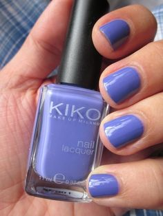 KIKO - 332 #kiko #nailpolish #blue