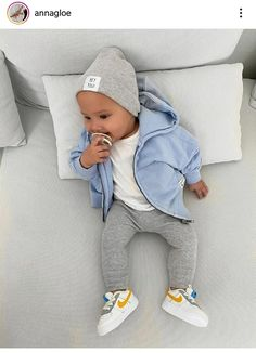 Baby Boy Swag, Cute Baby Boy Outfits, Little Boy Outfits, Toddler Boy Outfits, Baby Kids Clothes, Baby Boy Nails, Cute Little Baby, Baby Kind, Baby Boy Fashion