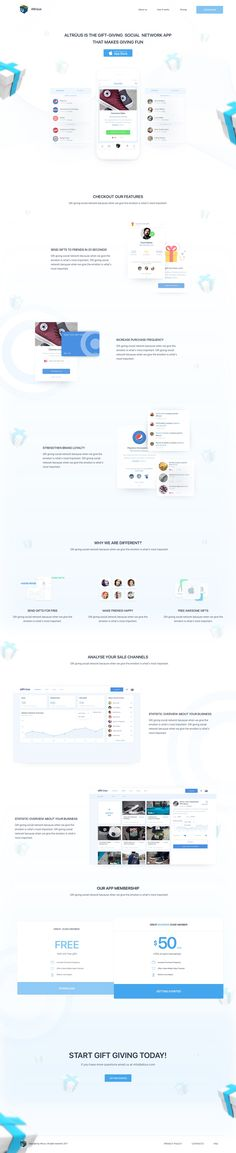 Gift Giving Project Landing Page