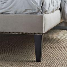 Liška Design: How to Make Your Own Upholstered Bed Frame