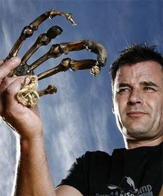 """Giant hand from Nepal. This artifact was stolen from a monastery in the tiny Nepalese village of Pangboche, in the 1990s. """"... if the monks were telling the truth about the origins of the finger, and its accompanying """"skull cap"""", then the DNA results raise some startling questions its origins. The first test says it wasn't human the 2nd says it was human, most likely it was a Nephilim, or a descendant of Nebuchadnezzar from the seven years in the wilderness. Either way, it's a giant."""":"""