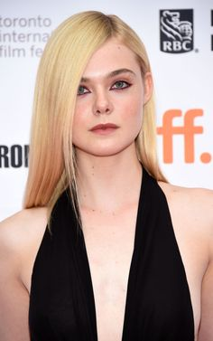 Elle Fanning at the 2015 Toronto premiere of 'About Ray'. http://beautyeditor.ca/2015/09/22/tiff-2015
