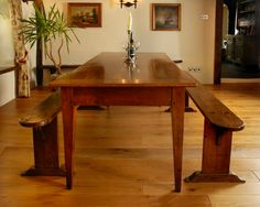 Need ideas for custom your dining room? French country dining table will be the perfect compliment for any dining room