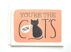 You're the Cat's Meow Card | Fable Paper Co.