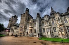 Cardiff Castle, Wales: had a lovely dinner here
