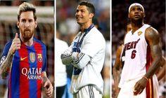 Los 20 deportistas más populares del mundo