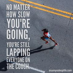 Don't sit on the metaphorical couch for the rest of your life! Monday Motivation | Inspirational Quotes | Running Memes | Fitness Memes | Personal Development