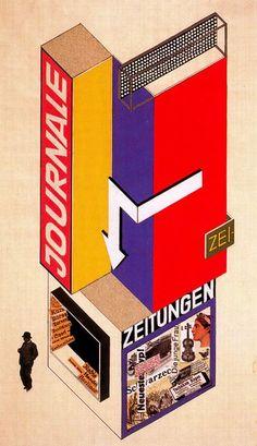 Herbert Bayer, exhibition design