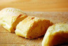 Se non è zucca è pan bagnato: Baguette di semola con lievito madre