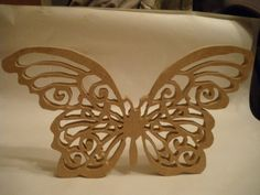Items similar to papillon en dentelle en bois de MDF (medium) on Etsy Scroll Saw Patterns, Decorative Objects, Quilling, Mandala, Projects To Try, Butterfly, Etsy, Cnc, Puzzles