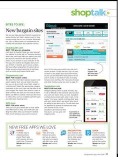 New bargain sites