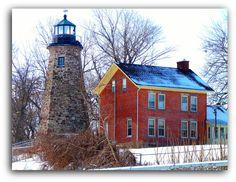 Charlotte-Genesee Light, Genesee, New York (Lake Ontario/Genesee River)