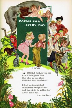 """Poems for Every Day"" 1954"