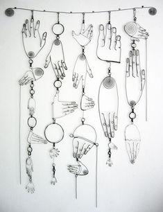 wire sculpture @Tamara Walker Walker Walker Walker Walker Dick