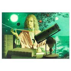 Sir Isaac Newton by Jean-Leon Huens
