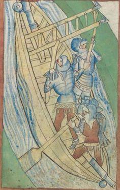 Kriegstechnik (Bilderhandschrift) Oberrhein · um 1420-1440 Ms. Rh. hist. 33b  Folio 63r