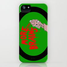 Return Of The Living  iPhone Case by Rotton Cotton Candy  - $35.00