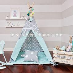 Lovetree Child's Children's Teepee Baby Teepee Tent Kids Play Tent Kids Indian…