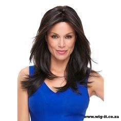 Alessandra These long, graduated layers bring modern verve to a classic knockout style.  http://wig-it.co.za/jon-renau-wigs/wigs/jon-renau-2015-fall-collection/alessandra-detail #wigitcoza