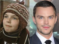 Nicholas Hoult - remember that weird kid from the film 'About a Boy'? What a fine specimen he's become!