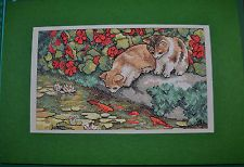 Item image Cross Stitch Cards, My Ebay, Reflection, Kitten, Embroidery, Carrie, Handmade, Painting, Image