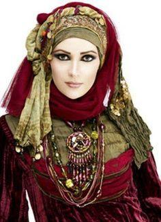 Beautiful women of different cultures   Modern Hijab wear Tutorial 2013