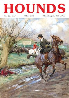 Sidesaddle hunt scene - must try this one day.