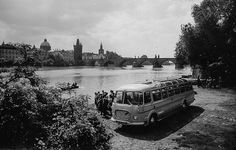 Prague of yesteryear. Courtesy of Vilém Heckel Archive Beautiful Places In The World, Most Beautiful, Czech Republic, Prague, Archive, History, City, Travel, Historia