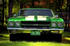 '70 Chevelle SS Everyone needs this very recognizable car in their collection