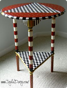 mackenzie childs inspired table