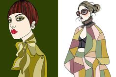Liselotte Watkins  Illustrator - Fashion and Art!